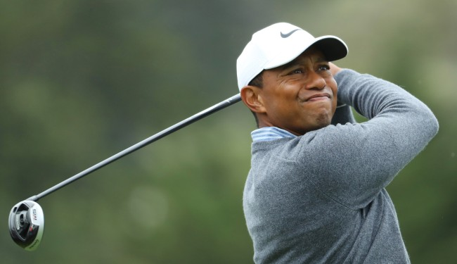 Video Of Tiger Woods Getting Up At 1 AM To Train For The British Open