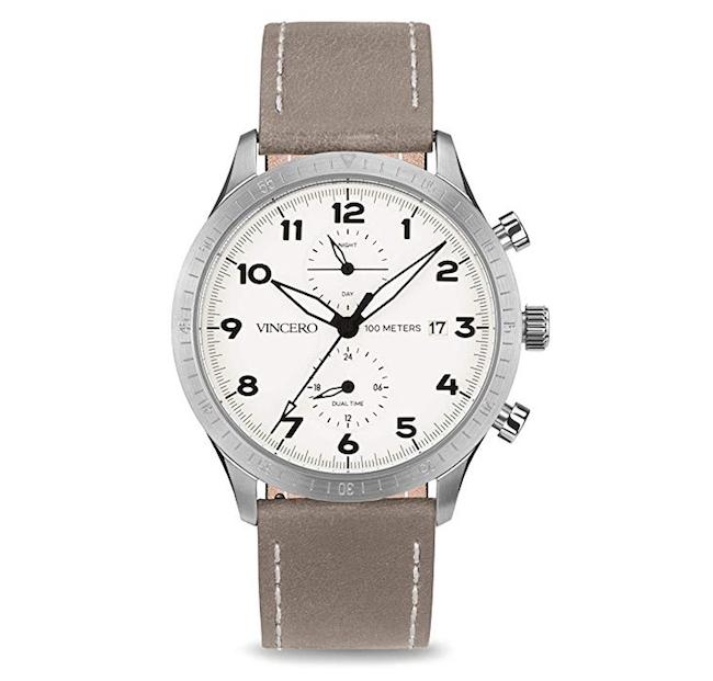 Vincero Luxury Men's Pilot Wrist Watch