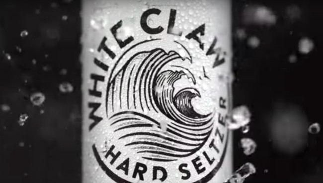 white claw more popular than beer