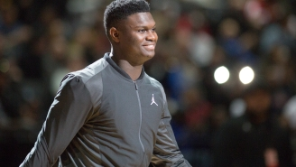 Zion Williamson Dropped An IG Post To Announce That He's Officially Signing With Jordan Brand