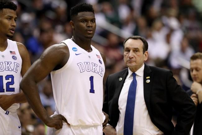 Zion Williamson's college coach, Mike Krzyzewski explains why he thinks No. 1 pick should've skipped NBA Summer League