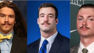 The 2019 College Lacrosse All Mustache Team