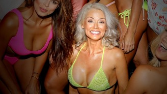 The 58-Year-Old Mom May Not Have Made The 2020 SI Swimsuit Issue But A 55-Year-Old Mom Is Still In The Running