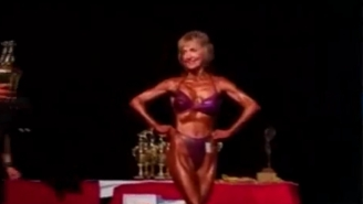 76-Year-Old Grandma Shows She's Got  Talent And Muscles As She Wows 'AGT' Judges
