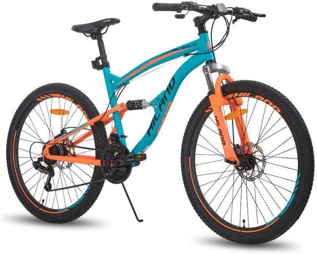 Hiland 26 Inch Dual-Suspension Mountain Bike
