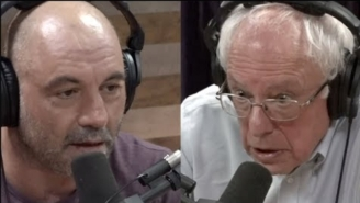 Joe Rogan Said He'd 'Probably Vote For Bernie Sanders' But Many Sanders Supporters Are Angry About The Endorsement
