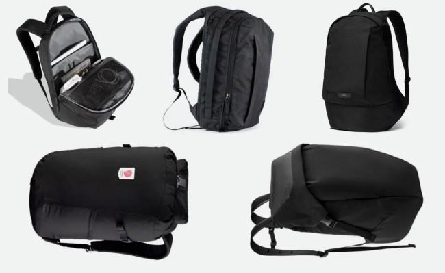 best black backpacks for men