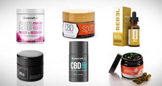 10 Of The Best CBD Products For Pain And Athletic Recovery