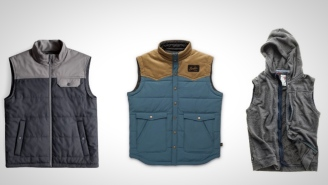 Layer Up With One Of These 3 Stylish Vests For Bros