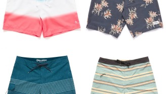 6 Epic Deals On Men's Swim Trunks, Because Summer Is Far From Over