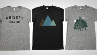 These Custom-Made Graphic T-Shirts From Bridge & Burn Are Made In The USA