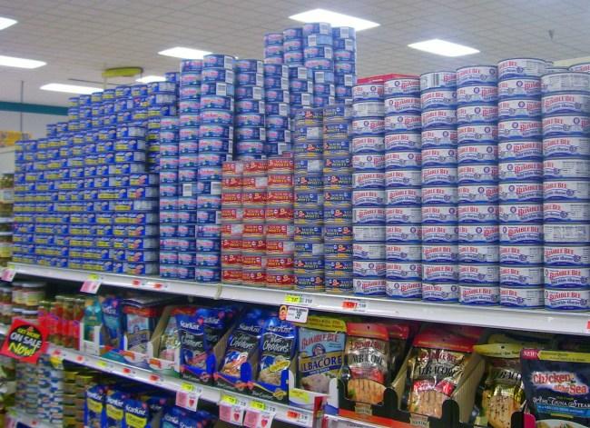 canned tuna overdose