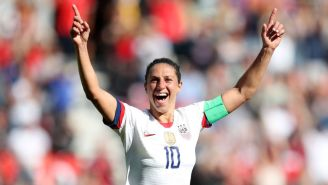 Carli Lloyd Isn't Messing Around About Becoming An NFL Kicker: 'This Isn't Just A Publicity Stunt'