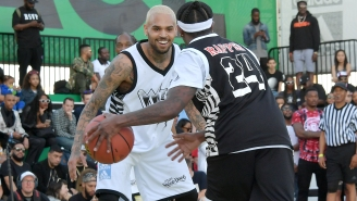 Chris Brown's Such A Baller That Metta World Peace Thinks He Should've Played In The NBA