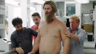 Watching Chris Hemsworth Transform Into 'Thicc Thor' Is Just As Entertaining As His Role In 'Endgame'