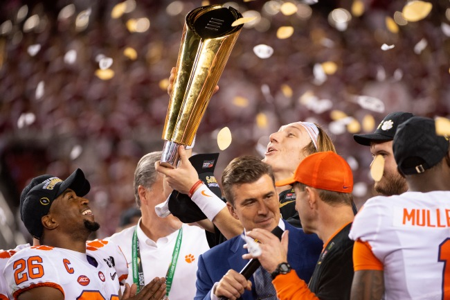 Clemson football self-reported the improper use of confetti because of the weird NCAA rules violations