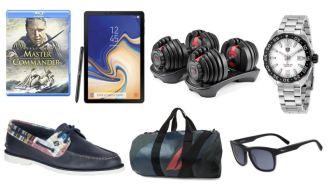 Daily Deals: Salvatore Ferragamo Sunglasses, Samsung Galaxy Tab 4, Bidets, Bowflex Dumbbells, Land's End Sale And More!
