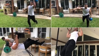 Test Yourself With Chris Hemsworth's 'Devil's Workout' And See If Your Endgame Is Vomiting Up Breakfast