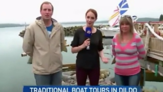 Americans Just Discovered There's A Town Named 'Dildo' In Canada And This News Segment Is Priceless