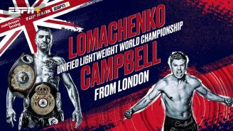 With Victory a Near Certainty, the Better Question is How will Lomachenko Beat Campbell?