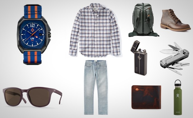 everyday carry men's gear travel apparel accessories