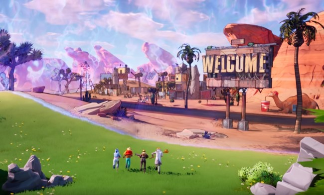 Epic Games releases Fortnite Borderlands collaboration with new world of Pandora.