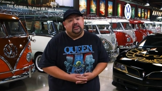 Comedian Gabriel Iglesias Shows Off His $3M VW Bus Collection That He Started Because 'He Doesn't Have A Coke Problem'