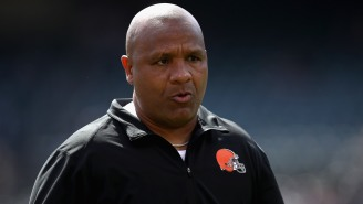 Hue Jackson Opening Up About How Deeply He Fell Into Depression Following Firing From The Browns Is Intense