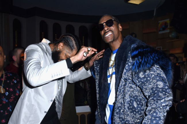 Snoop Dogg compares Nipsey Hussle to Jesus Christ and says Nipsey Hussle did what Tupac Shakur couldn't do on the Breakfast Club radio show.