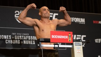 Wild New Video Shows UFC Legend B.J. Penn Getting Knocked Out Cold Outside A Bar By A Chubby Average Joe