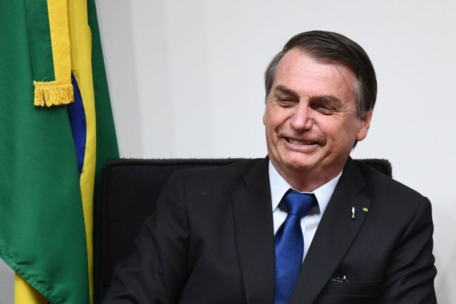 """Brazilian President Jair Bolsonaro has suggested people should """"poop every other day"""" as a way to save the planet from climate change."""