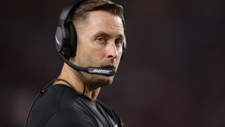 Kliff Kingsbury May Be In The Dog House With His Girlfriend Over Hilarious Comment About The Antonio Brown Helmet Saga