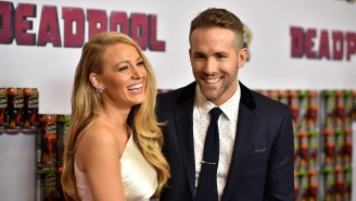 Ryan Reynolds Trolls Blake Lively On Her Birthday By Posting The Only Photos In Existence She Doesn't Look Like A Goddess In