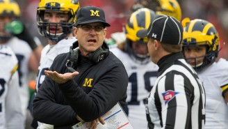 Michigan Trolls Ohio State Over Trying To Trademark The Word 'THE' And OSU Fans Had A Tantrum