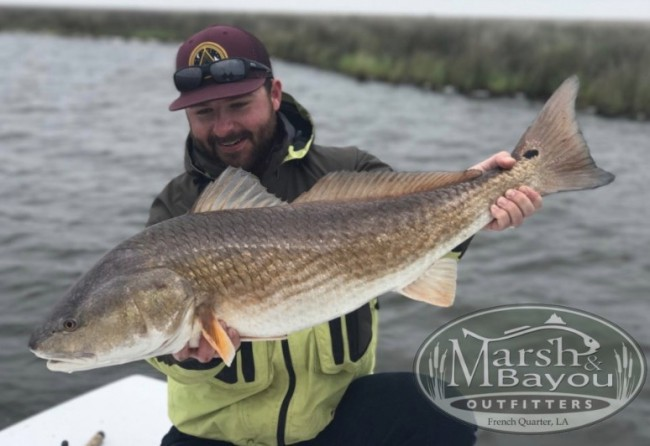 Hotel Mazarin Marsh and Bayou fishing