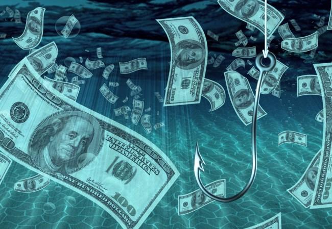 fishing for money