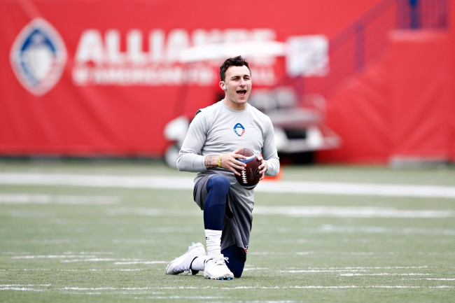 XFL executive explains reason why he wouldn't sign Johnny Manziel