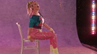 Watching Kate Upton Have An 80's Aerobics Dance-Off In Spandex Is A Great Way To Spend Your Next Few Moments