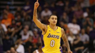 Kyle Kuzma Got Absolutely Roasted After Sharing A Picture Of His Ridiculously Awful Outfit