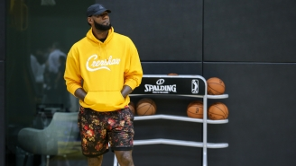 AAU Star Defends LeBron James' Hype At Youth Hoops Games By Explaining Why It's So Important To Him