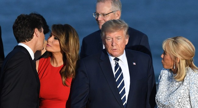 Melania Trump Ready To Risk It All For Justin Trudeau Memes