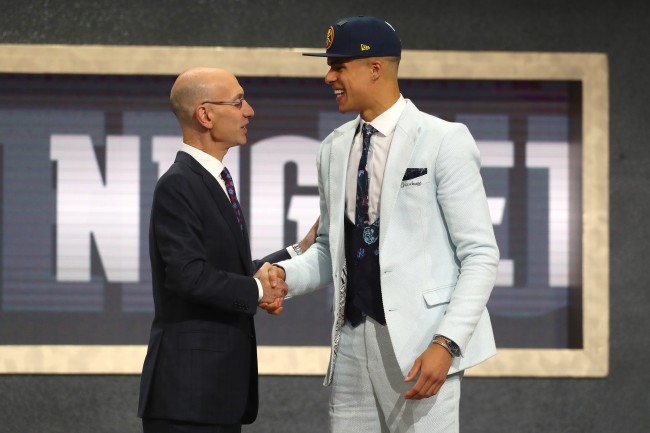 Nuggets forward Michael Porter Jr. accidentally gave out Adam Silver's cell phone and email on Snapchat