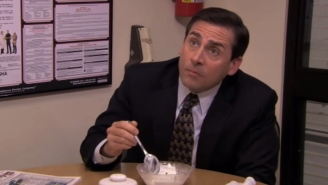 Glorious Tribute To Michael Scott's Ridiculous Love Of Food On 'The Office'