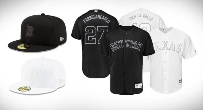 MLB Unveils Special Monochromatic Uniforms For 2019 Players Weekend