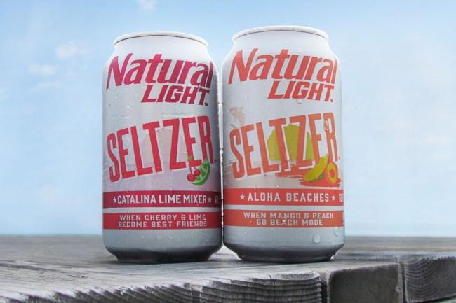 Natty Light Seltzer