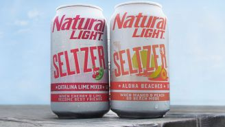 Natty Light Hard Seltzer: Natty Is Entering The Hard Seltzer Game With A Cheaper Hard Seltzer, Sold By The Case