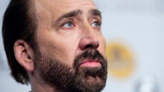 Nicolas Cage Talked About Owning Pet Cobras, Buying A Stolen Dinosaur Skull, And His Quest For The Holy Grail In A WILD Interview