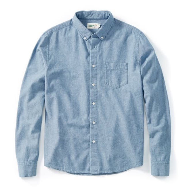 Organic Denim Shirt from Wellen