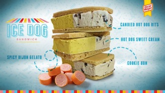 Gag Reflex Sequence Initiated: Oscar Mayer Is Releasing A Hot Dog Flavored Ice Cream Sandwich This Week
