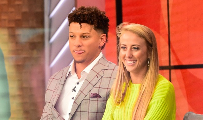 Patrick Mahomes And Brittany Matthews Show Off Their Dream House 180 Shoes